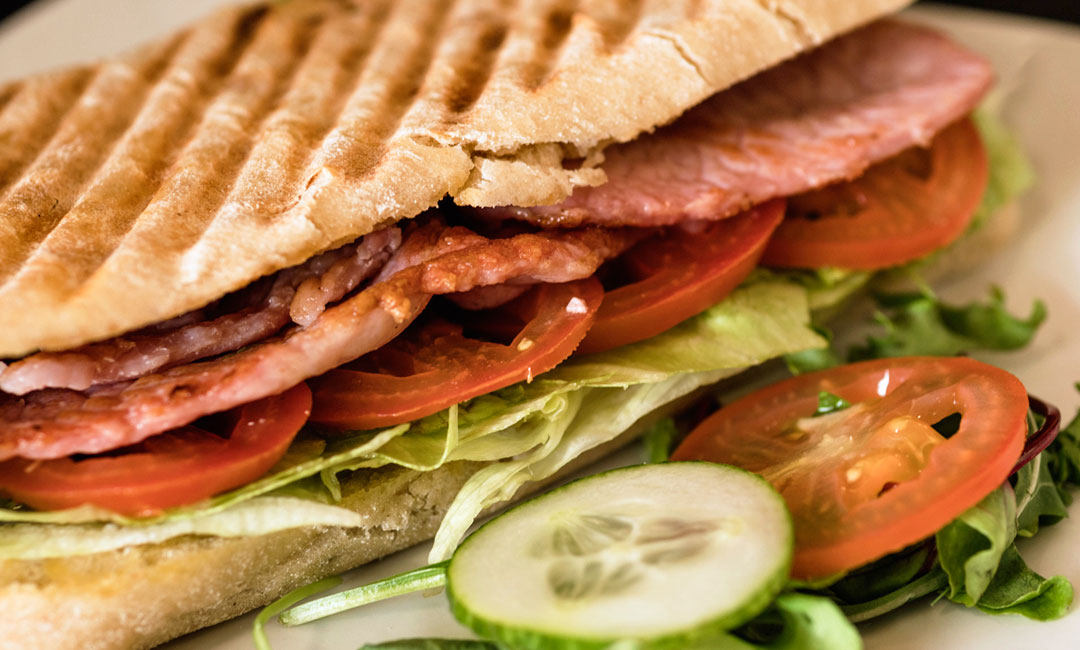 Sandwiches, Rolls and Paninis